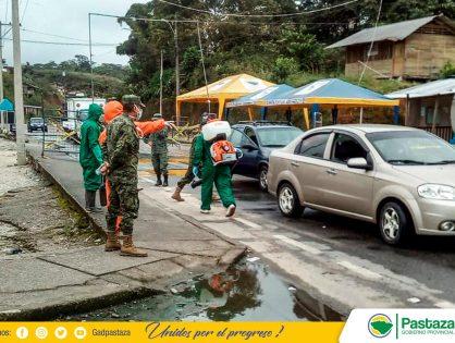 Continuamos con nuestro trabajo preventivo de desinfección vehicular!