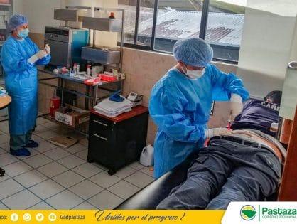 Personal del GADPPz que se encuentra en primera línea, recibe atención médica preventiva!