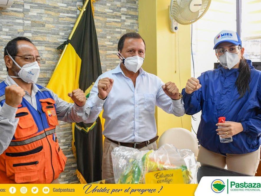 Gobierno Provincial de Pastaza suscribió un convenio con el MIES para la preparación de 5.000 raciones.