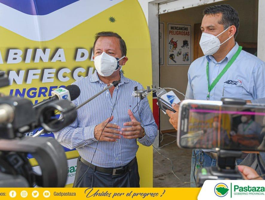 Seguimos entregando túneles de desinfección para prevenir el #COVID19.