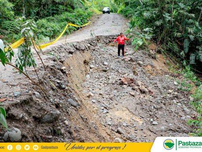 Prefectura de Pastaza apoya al Gadmipa Arajuno en la declaratoria de emergencia vial.