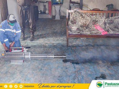 Continuamos con la desinfección preventiva en varios sectores de la provincia.