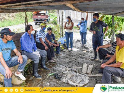 El apoyo con raciones alimenticias llegó a la comunidad Jitanyacu.
