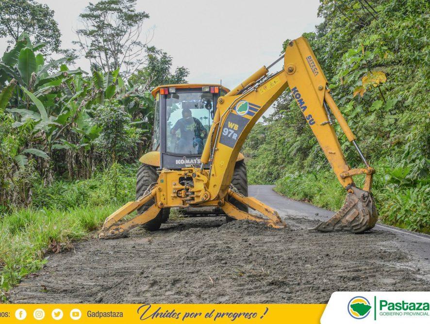 Nuestro equipo de emergencias viales mantienen expeditas las vías de la provincia.