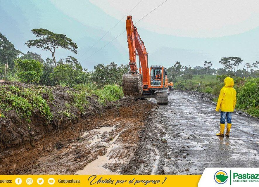 Se iniciaron trabajos de asfaltado en la vía San Ramón-Km 31 vía Tena