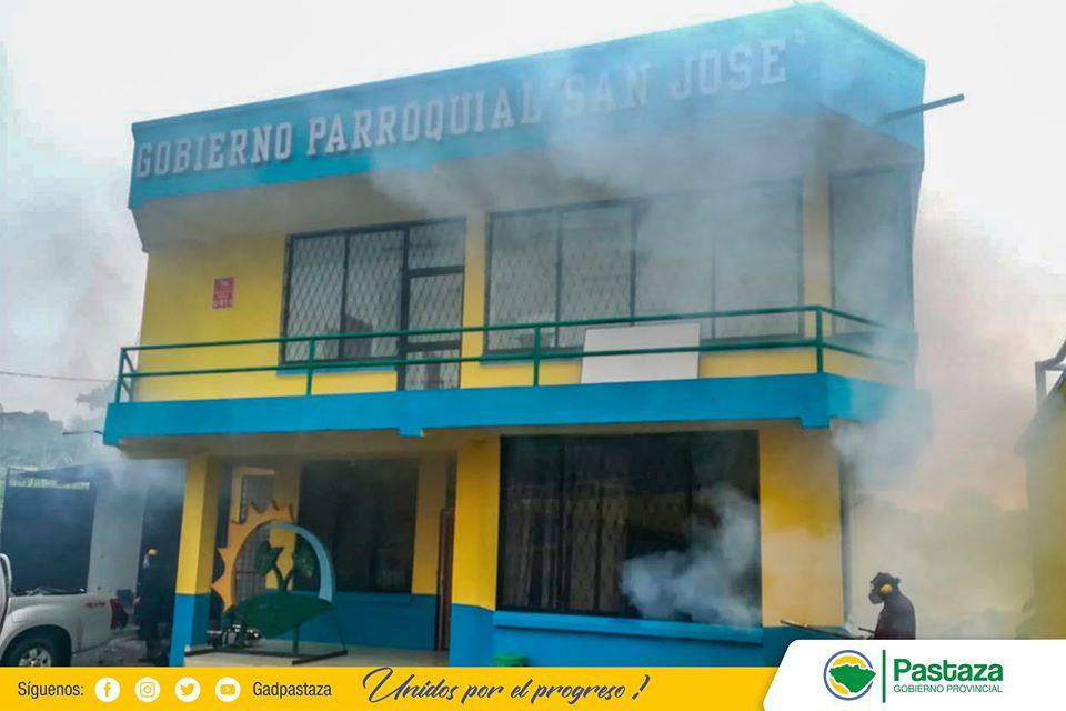 Continuamos realizando fumigaciones preventivas