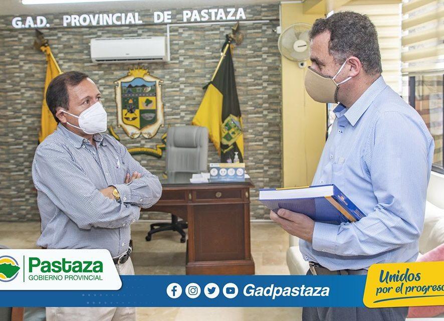 Prefecto recibió la visita del Director Zonal 3 del Ministerio de la Producción, Comercio Exterior y Pesca.