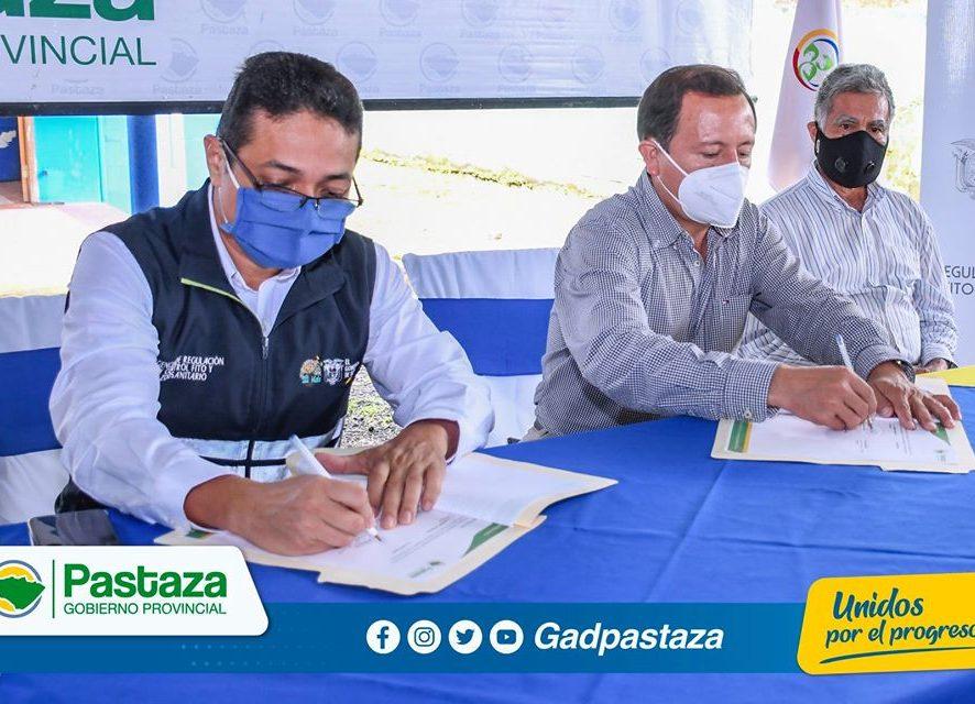 Prefectura de Pastaza y Agrocalidad Ecuador firman Acuerdo para campaña de vacunación ganadera!