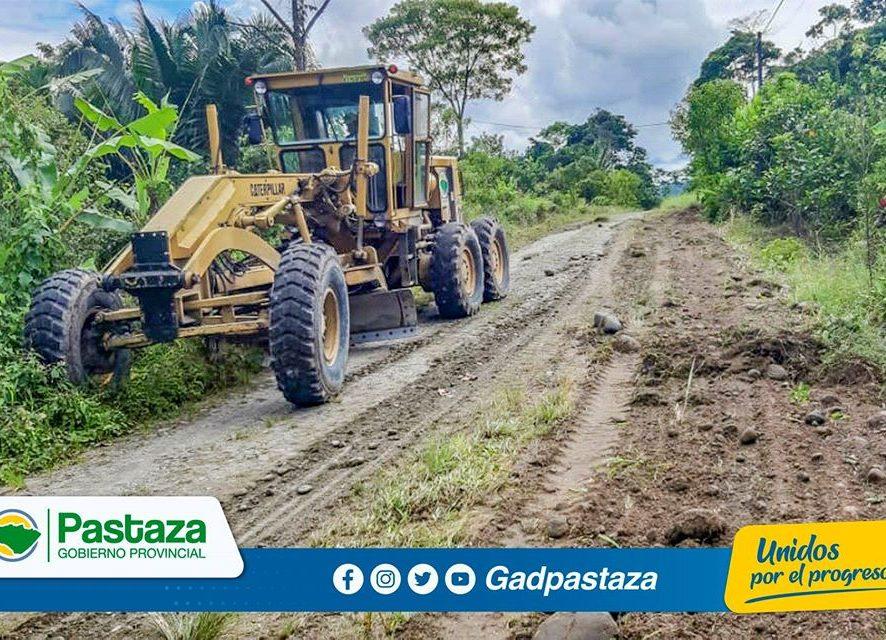 Prefectura de Pastaza en coordinación con los GADs Parroquiales impulsa las mingas comunitarias!