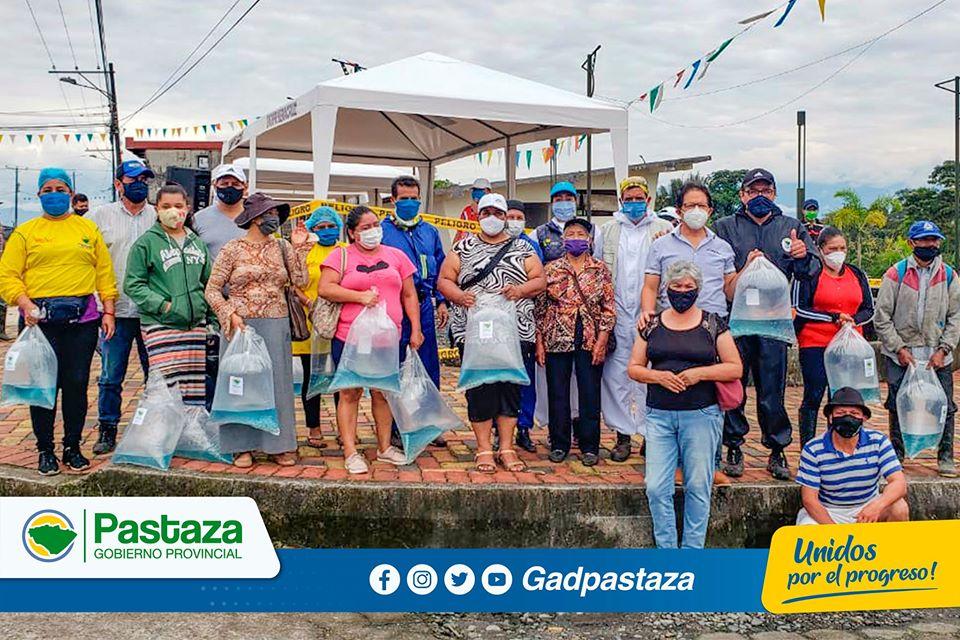 El apoyo al sector productivo de Pastaza continúa!