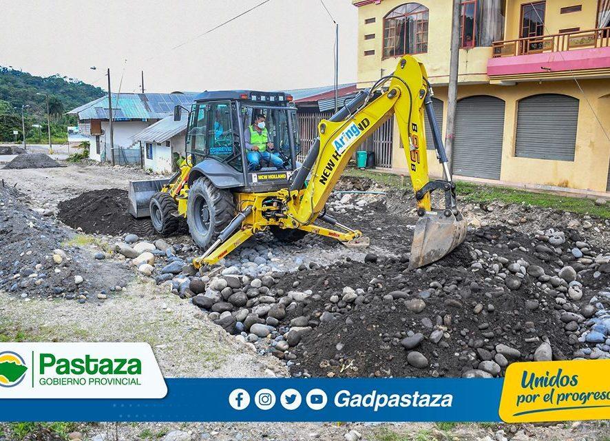 Proyecto de asfaltado de calles del barrio Las Playas avanza según lo planificado