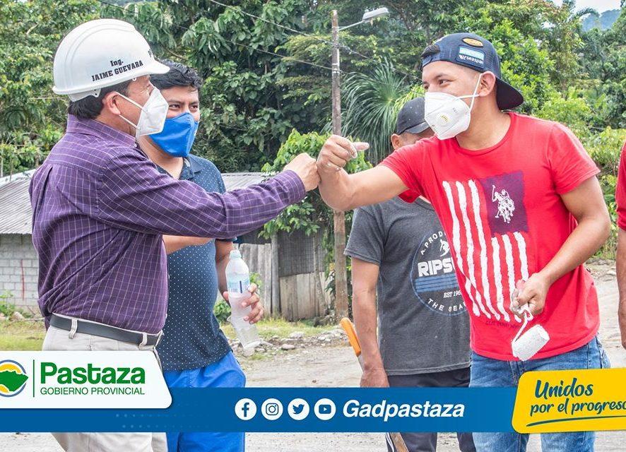 Prefectura de Pastaza brinda apoyo, mediante mingas comunitarias, a GADs Parroquiales!