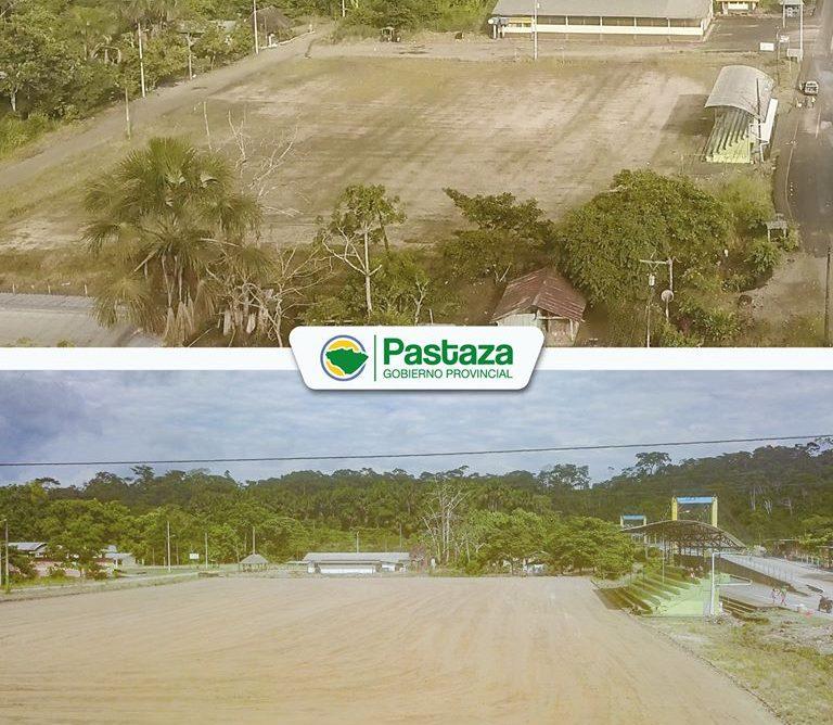 ¡Recuperamos el estadio de la parroquia Canelos!