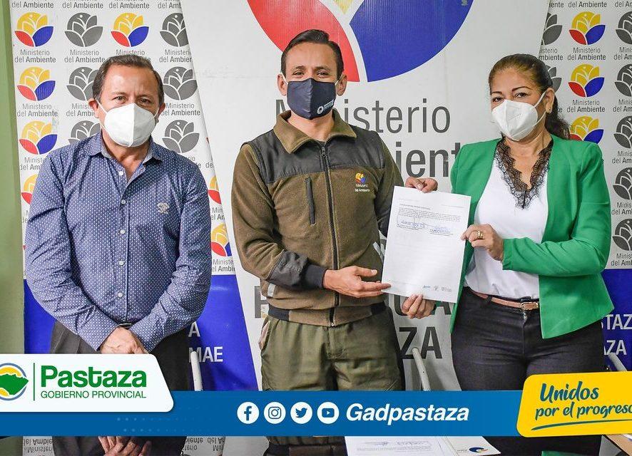 ¡Prefecto participó de la firma de convenio entre Patronato y MAAE!