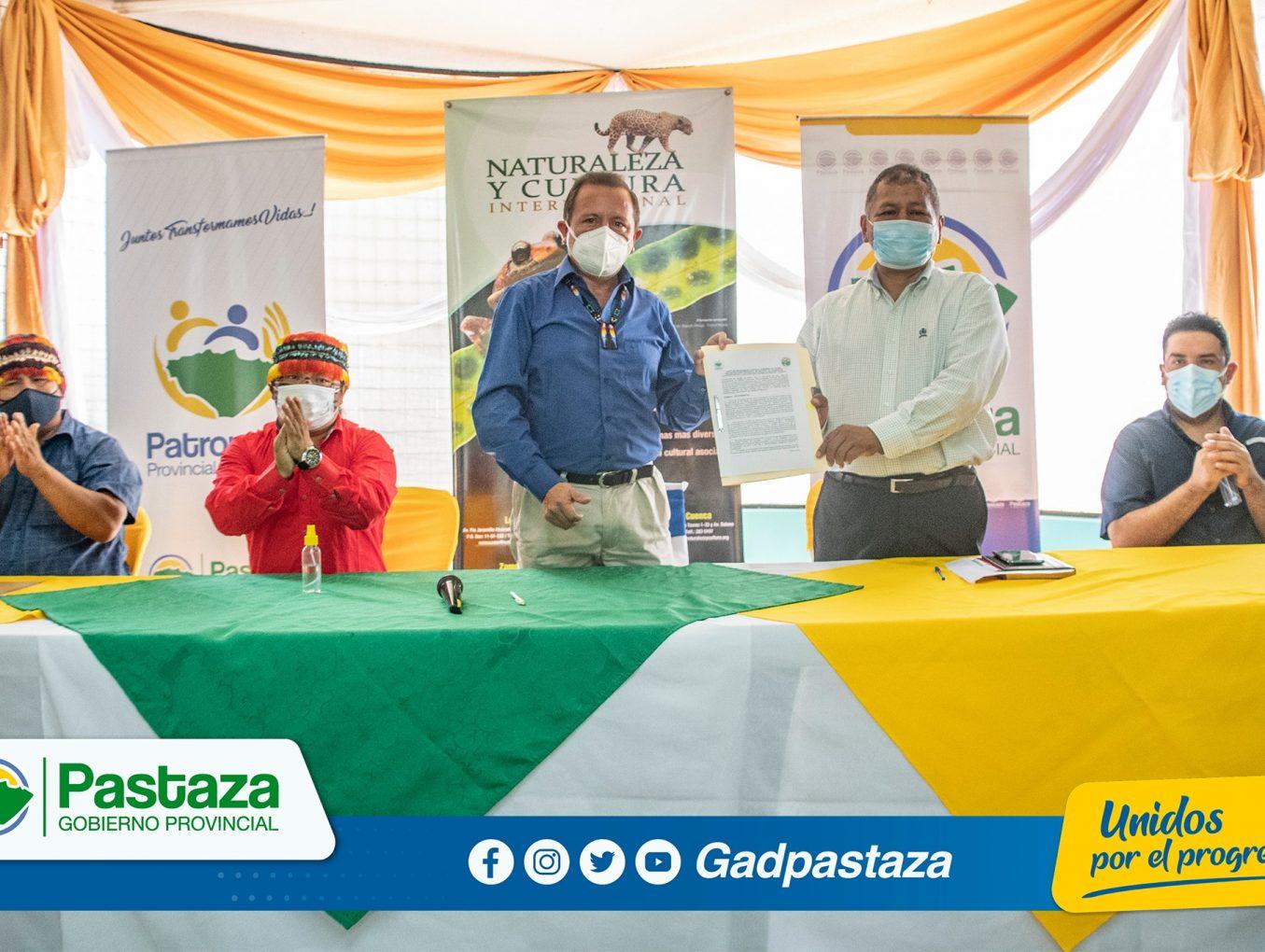 ¡Prefectura de Pastaza firmó Carta de Entendimiento con el Consejo de la Nacionalidad Kichwa!