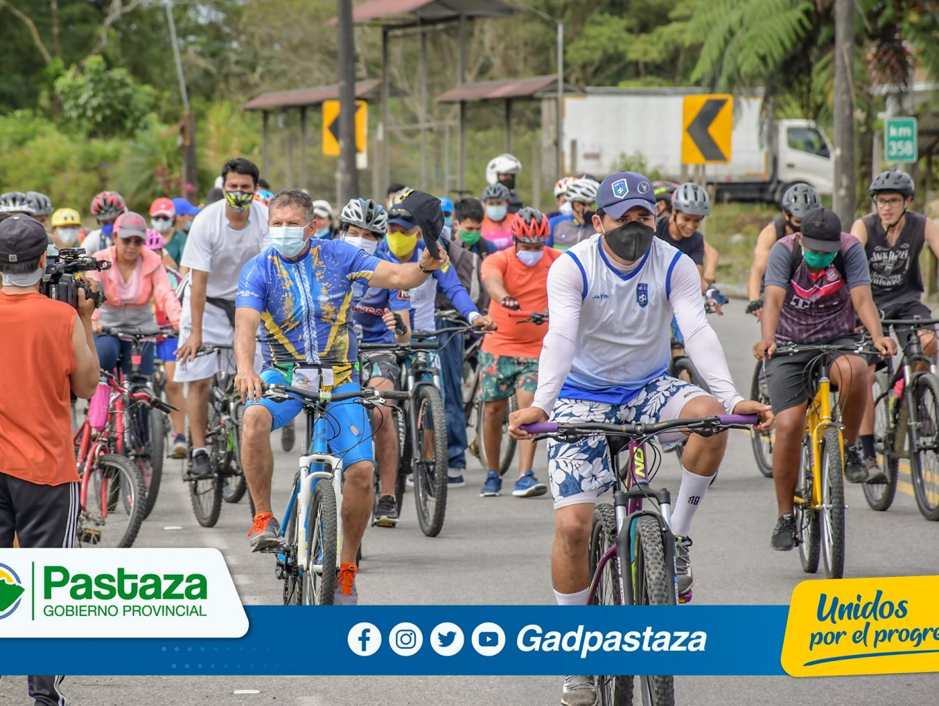 ¡Reactivamos el turismo con la cicloruta a Tnte. Hugo Ortiz!