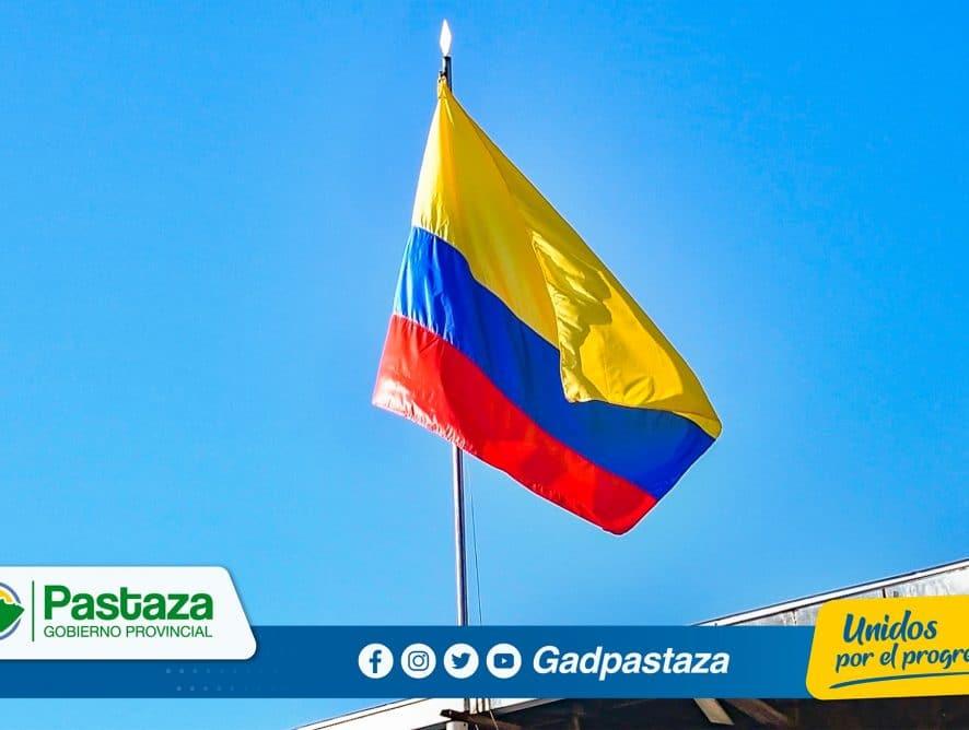 El Día de la Bandera se conmemoró en el Minuto Cívico