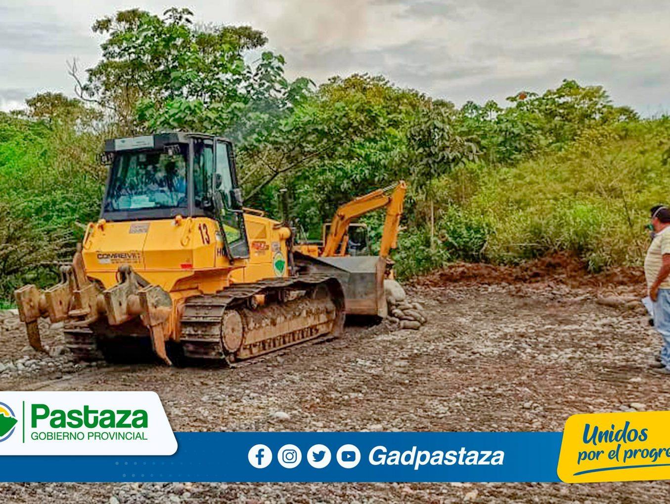 ¡Prefectura de Pastaza construye área de cuarentena de vida silvestre!