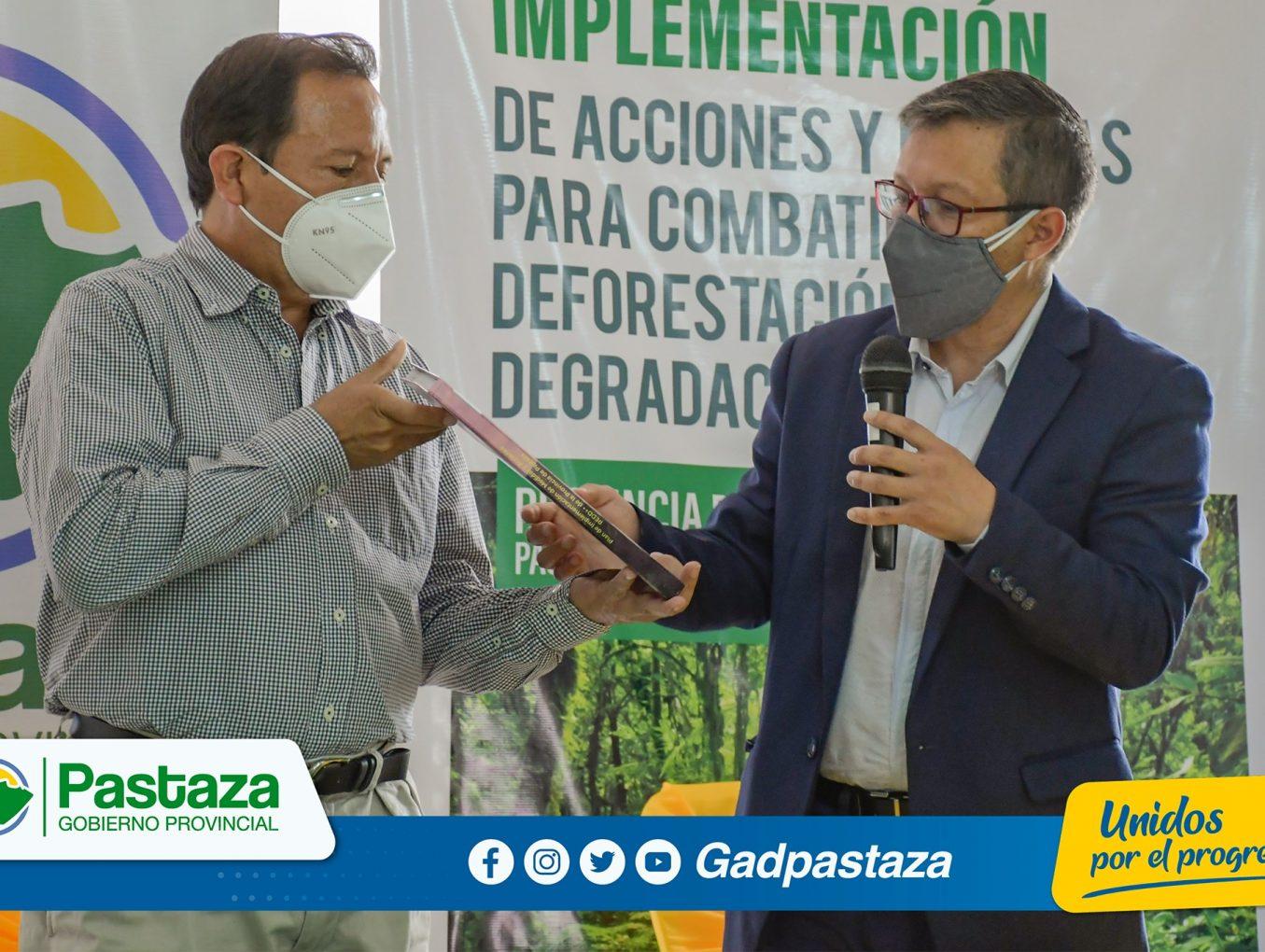 Prefectura presento Plan de Implementación y Acciones REDD+ de Pastaza