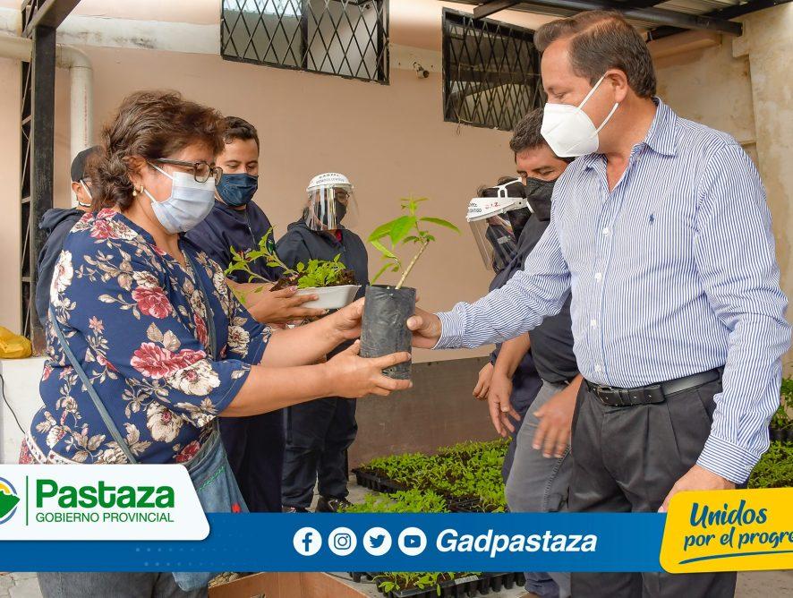 ¡Se fortalece al sector productivo con la entrega de hortalizas a 80 campesino de Pastaza!
