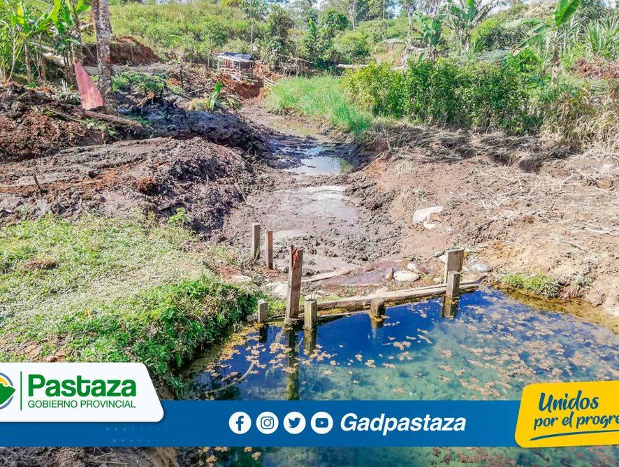 ¡Se construyeron 600 metros de sistemas de drenaje en la parroquia El Triunfo!