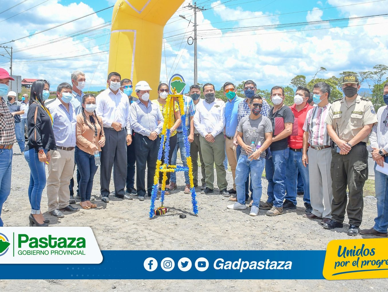 ¡Se inician los trabajos de Rehabilitación de la vía Puyo - Tarqui - Y de Putuimi!