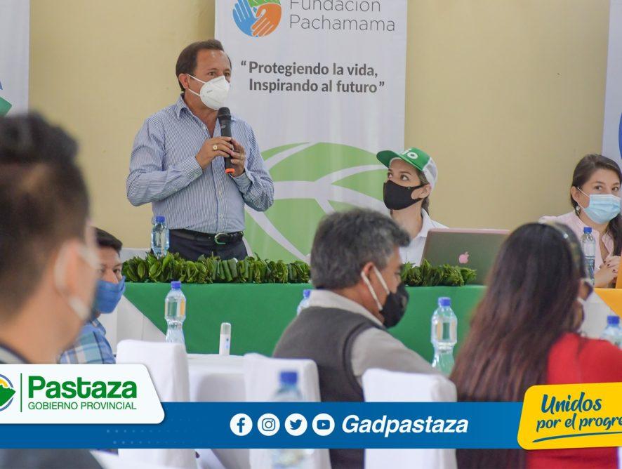 Prefectura de Pastaza, generó acercamiento con la multinacional AJE para futuras alianzas productivas!