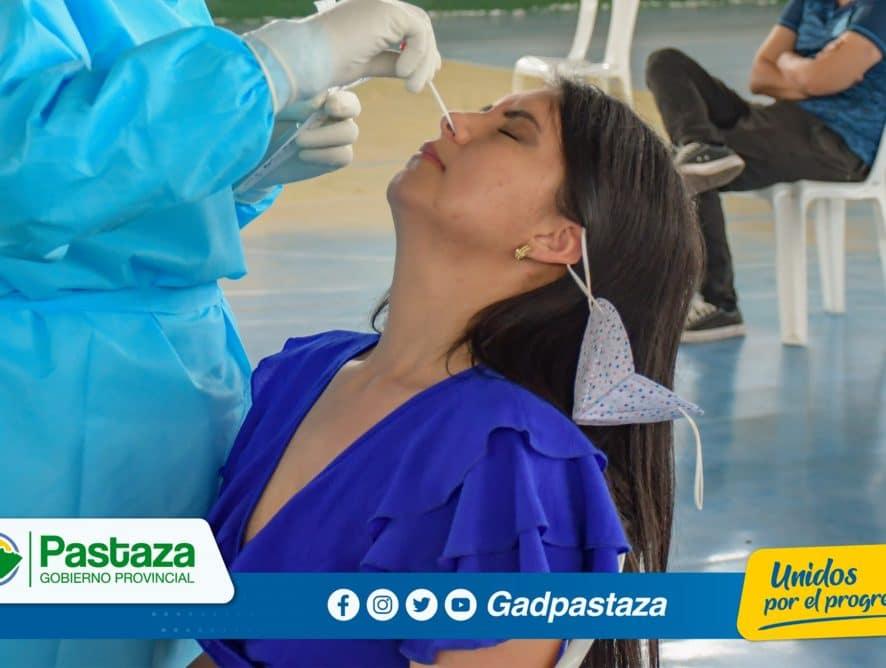 GADPPz gestionó muestras PCR para funcionarios de la FDP