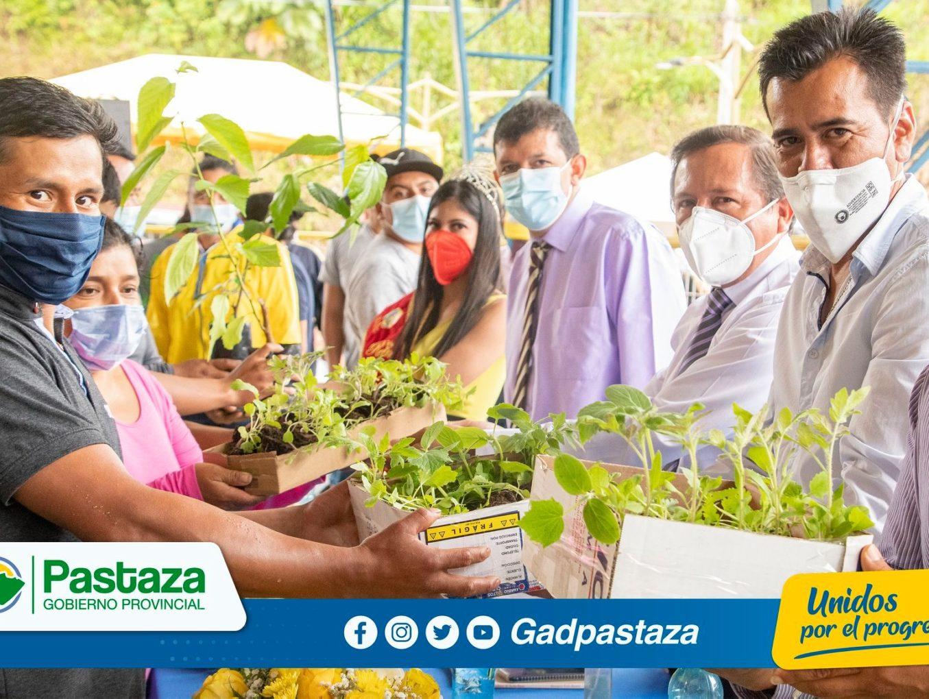 ¡Alevines, plantas frutales, ornamentales y hortalizas se entregó a productores de Teniente Hugo Ortiz!