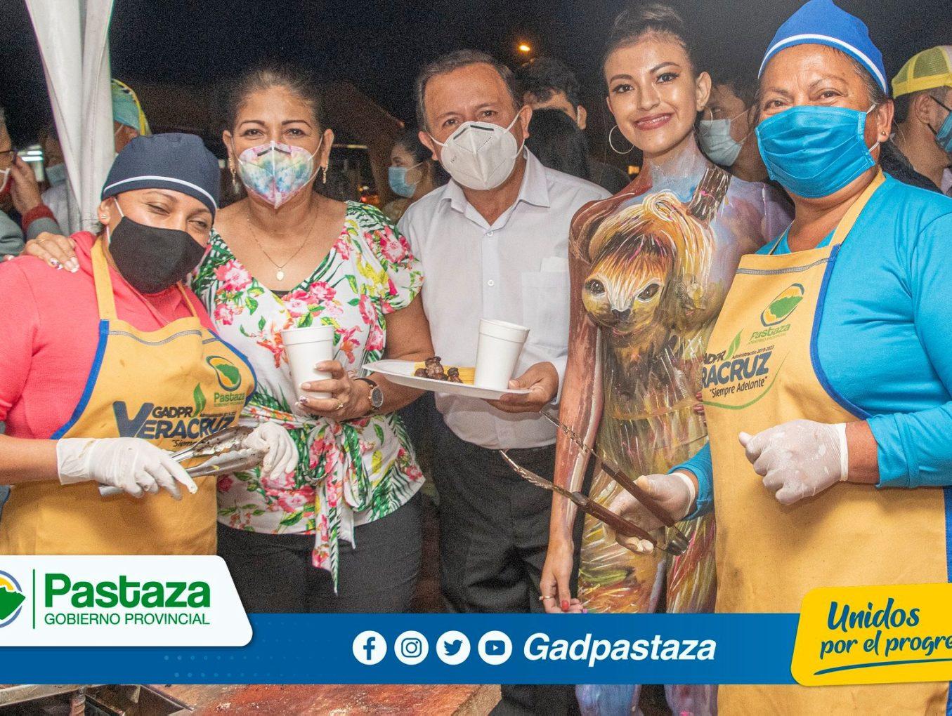 Prefectura de Pastaza apoya a Veracruz en la reactivación económica!