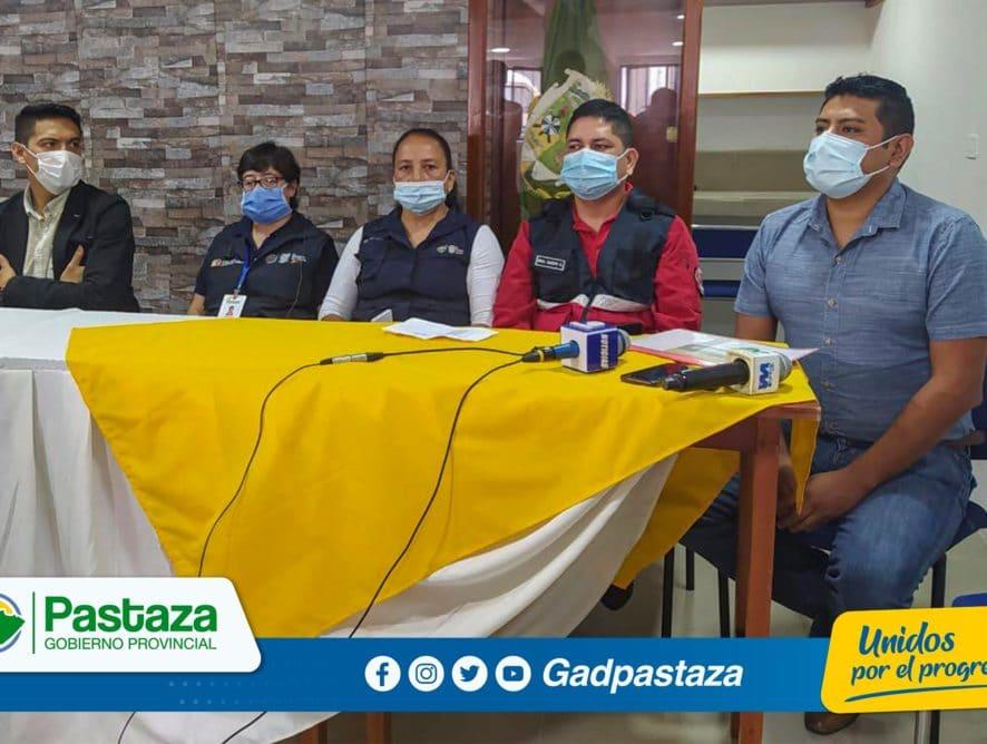 Prefectura de Pastaza , como parte del COE provincial, listo para atender emergencias en el feriado!
