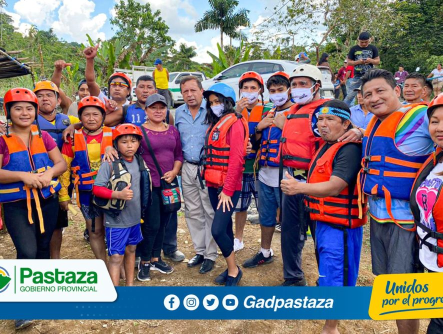 ¡Apoyamos la reactivación del turismo de aventura en la parroquia 10 de Agosto!