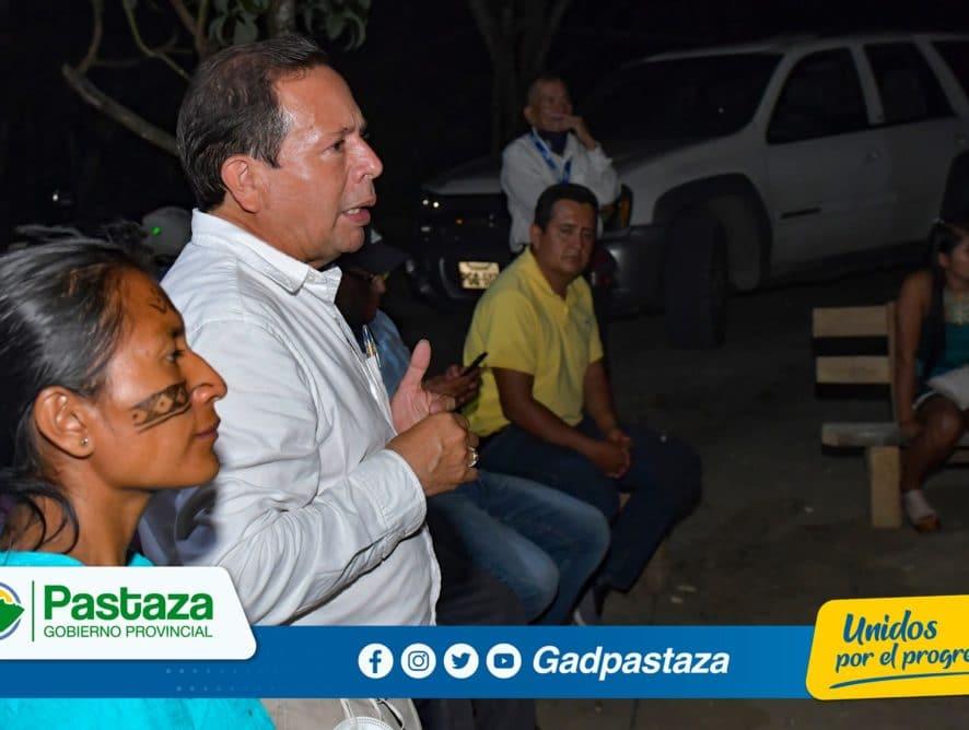 ¡En la comunidad Tuna Pascual Prefecto escuchó a su pueblo!