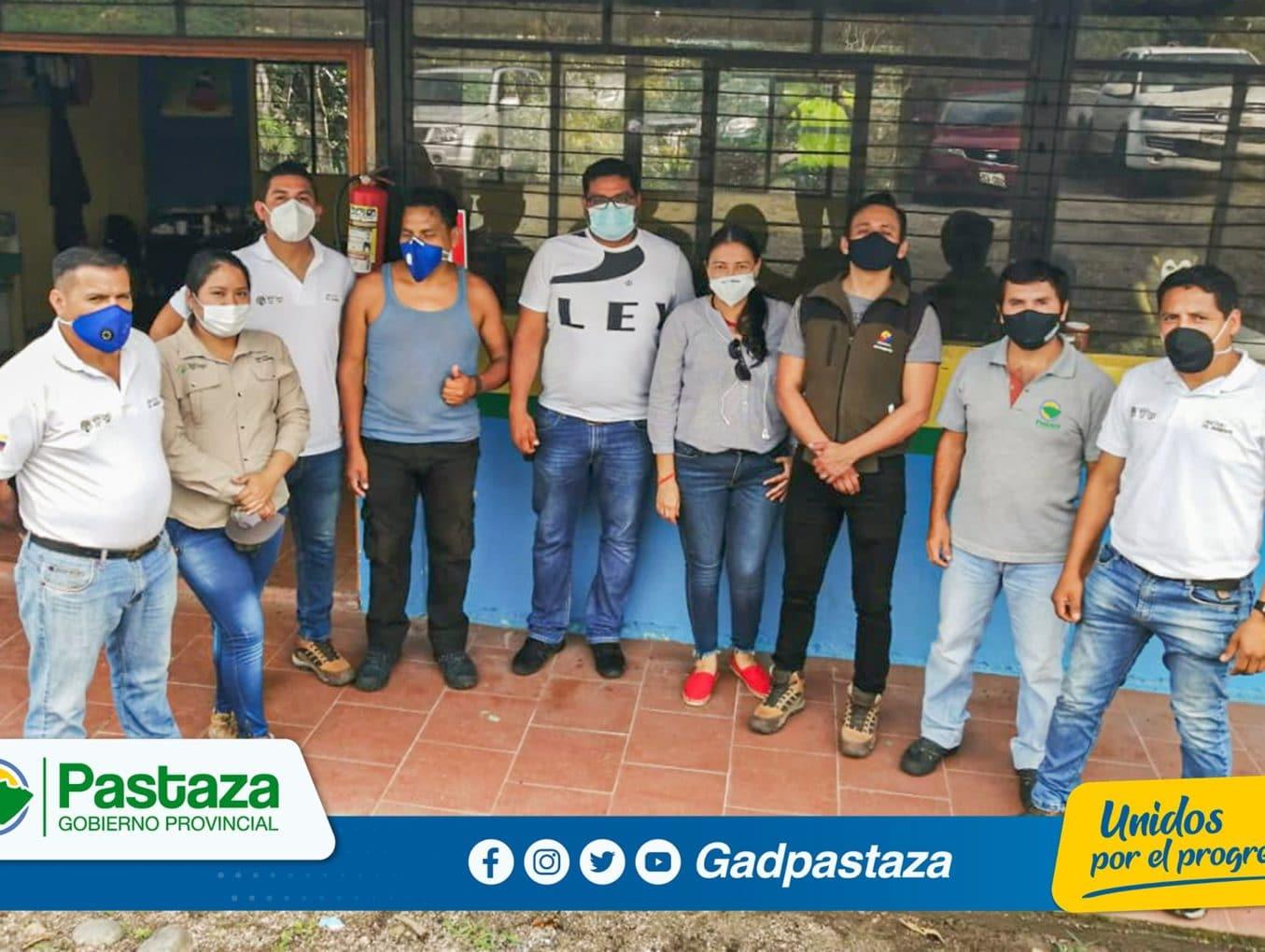 Visita protocolaria del Director Zonal del Ministerio del Ambiente y Agua de Ecuador