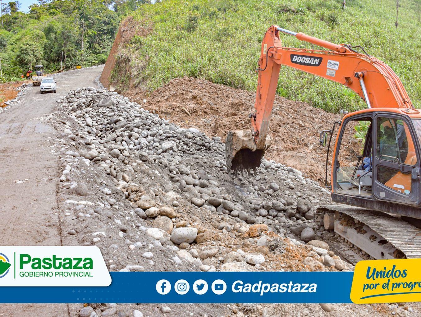 ¡Avanzamos con los trabajos de asfaltado de la vía  San Ramón-Km 31 vía al Tena!