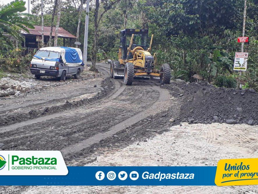 ¡Las labores  son día tras día y con total compromiso  por Pastaza!