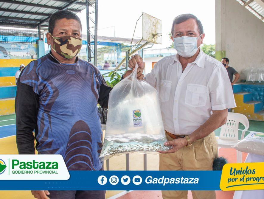 ¡Piscicultores de Fátima se beneficiaron de entrega de alevines!