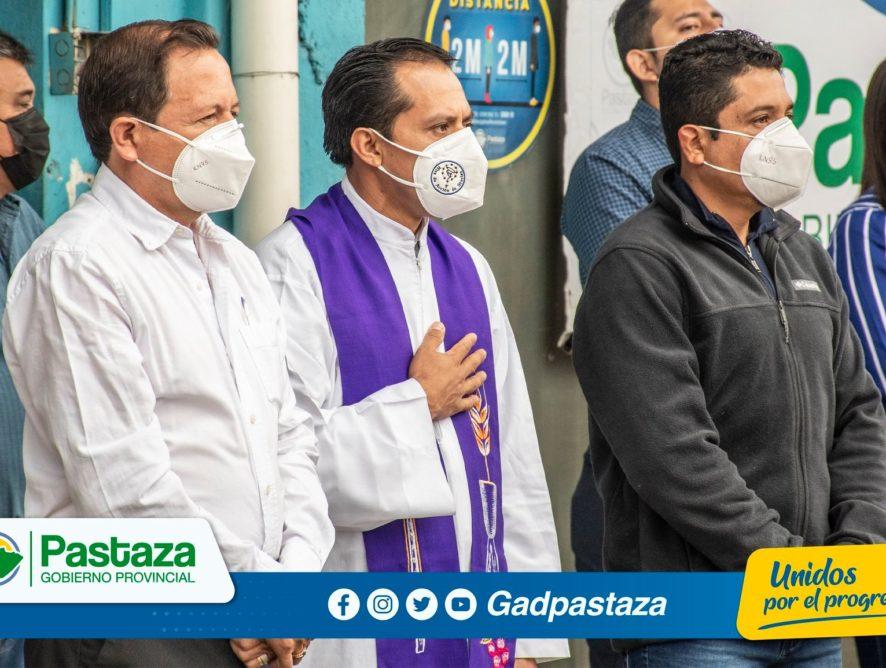 ¡Los 61 años de provincialización de Pastaza se conmemoró en el Minuto Cívico!