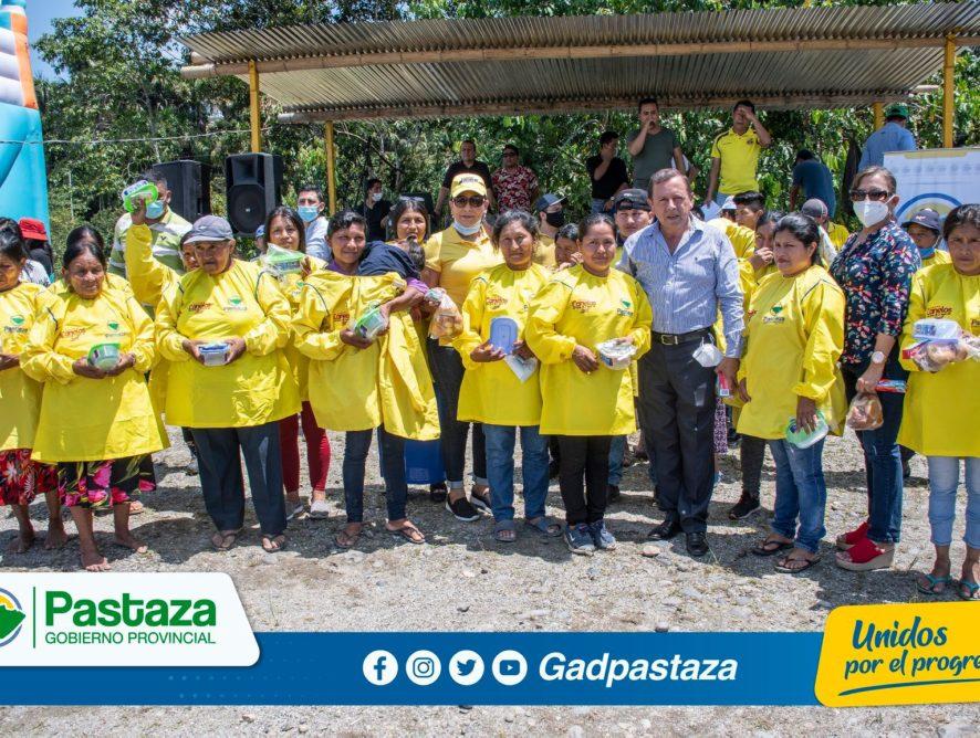 ¡En Santa Clara, Prefectura realizó lanzamiento del Proyecto Cambio Guayusa Pastaza!