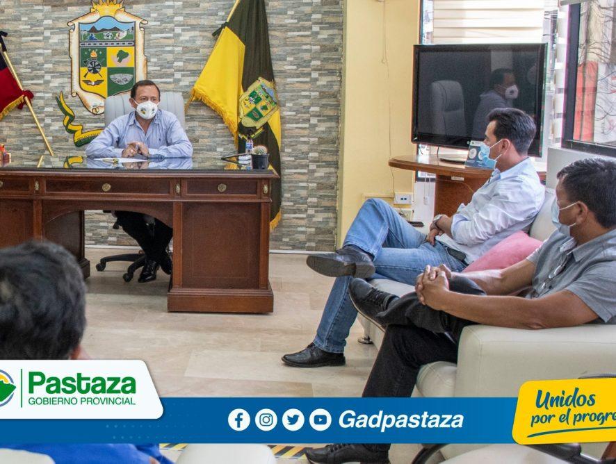 ¡Prefecto, articula acciones con varios presidentes de GADs Parroquiales!