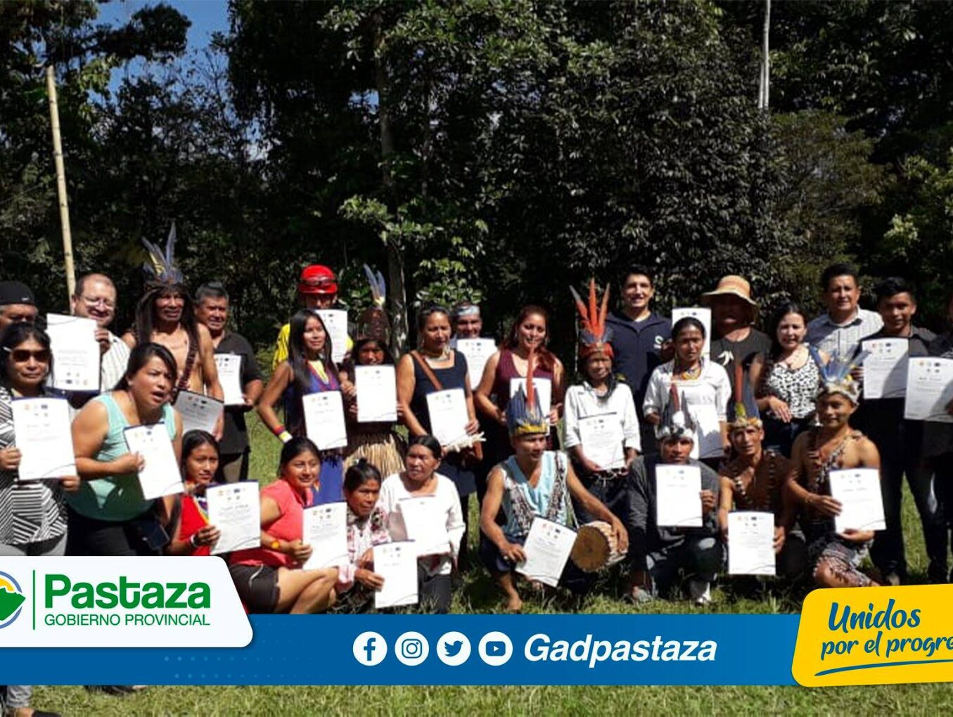 Prefectura de Pastaza capacitó a emprendedores de Turismo Rural sobre los ODS!