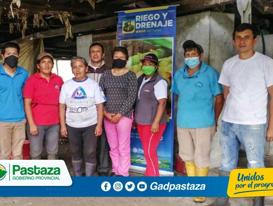 Se realizó la capacitación en elaboración de fungicidas orgánicos a agricultores de Fátima.