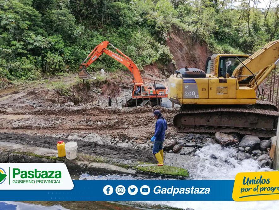 ¡Trabajamos en equipo  para proteger la captación de agua del Pindo Mirador!