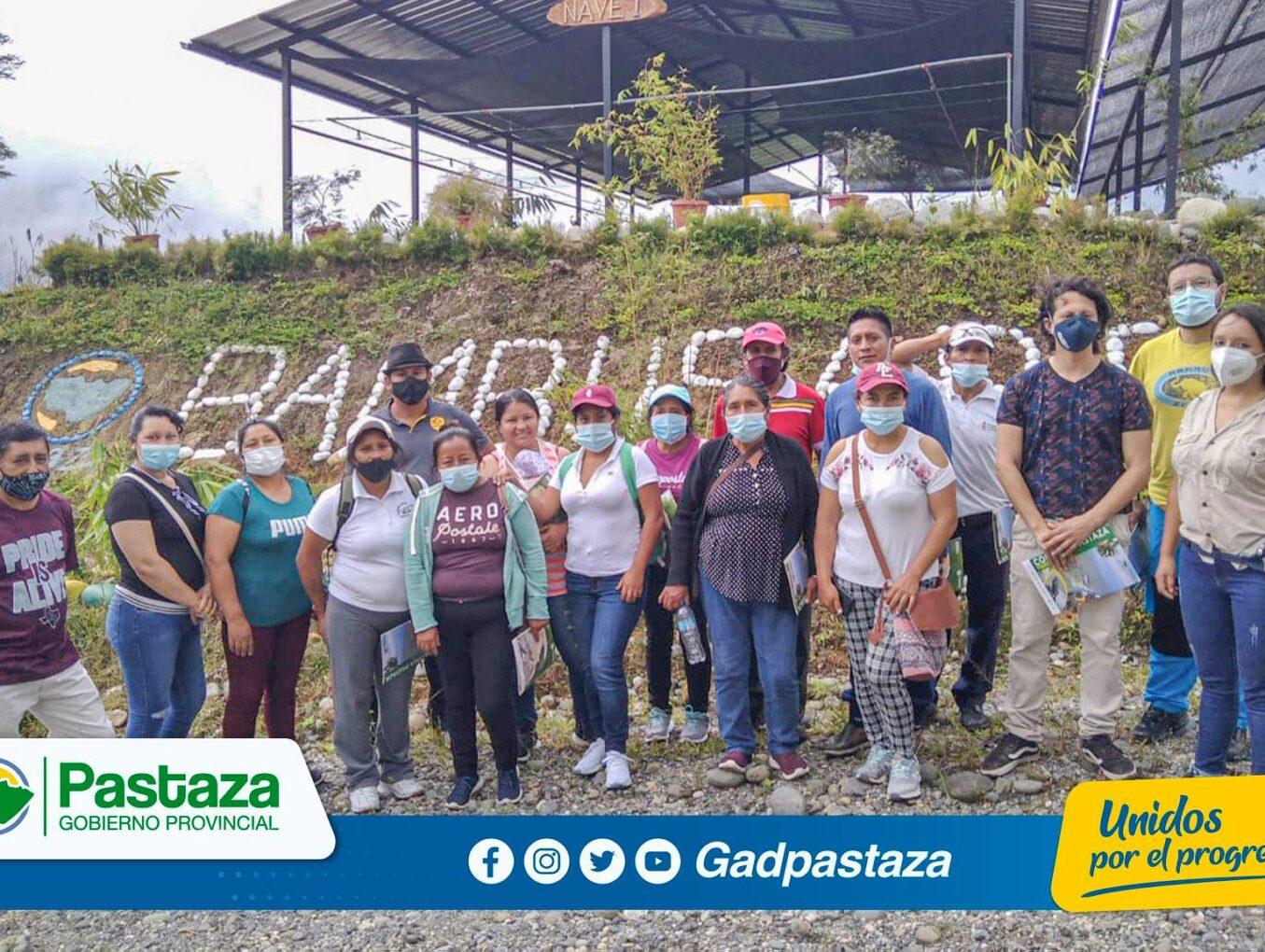 Aso. Agrícola y Ganadera de Morona Santiago se capacitó en manejo de vivero forestal