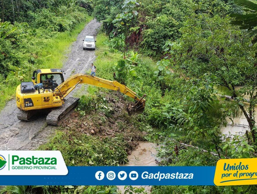 Prefectura de Pastaza realizó minga comunitaria en Veracruz!