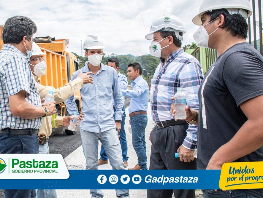 ¡Las obras no paran en Pastaza!