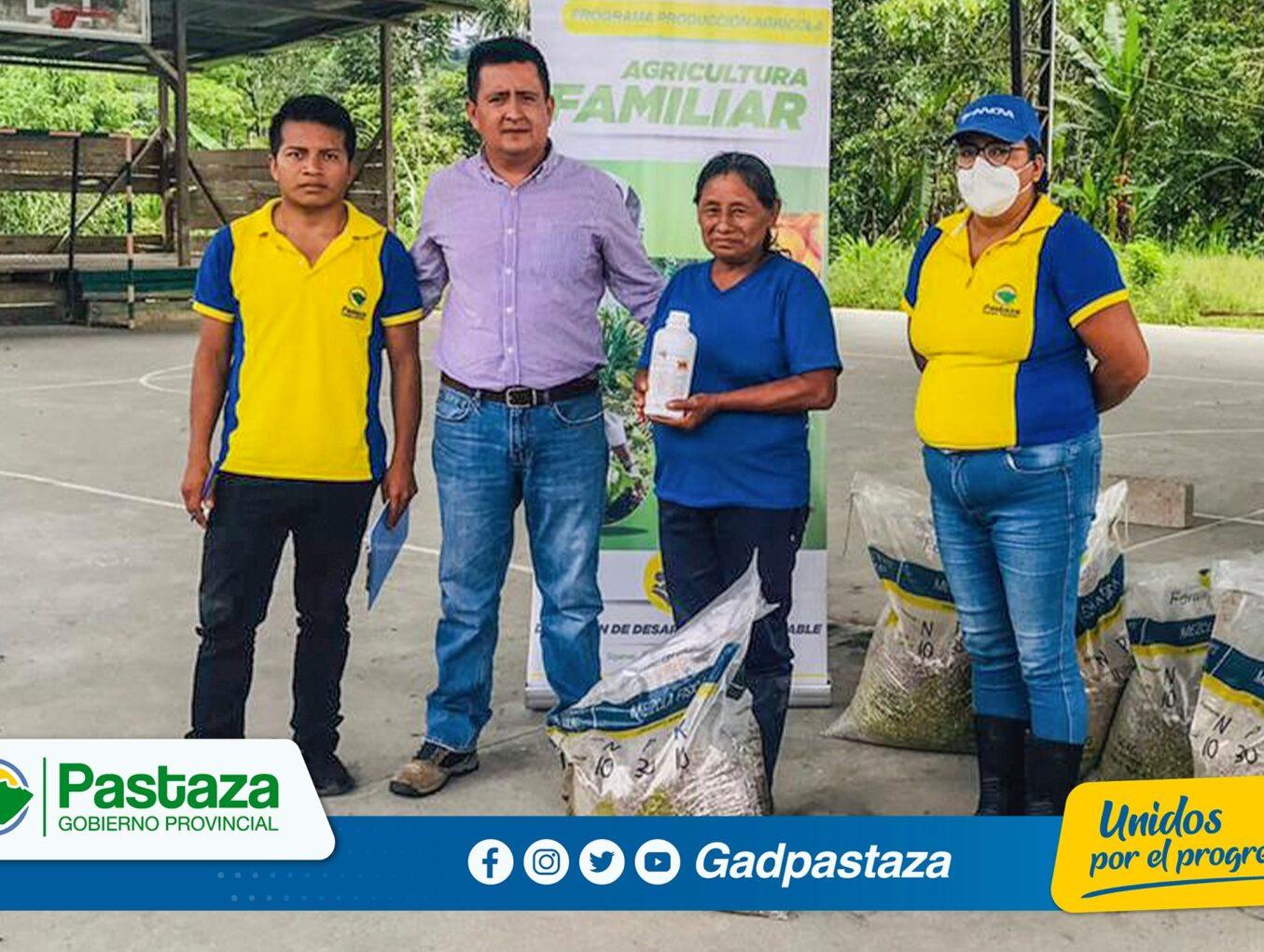 ¡Beneficiamos a productores de cacao de Shiwacocha con la entrega de fertilizante orgánico!