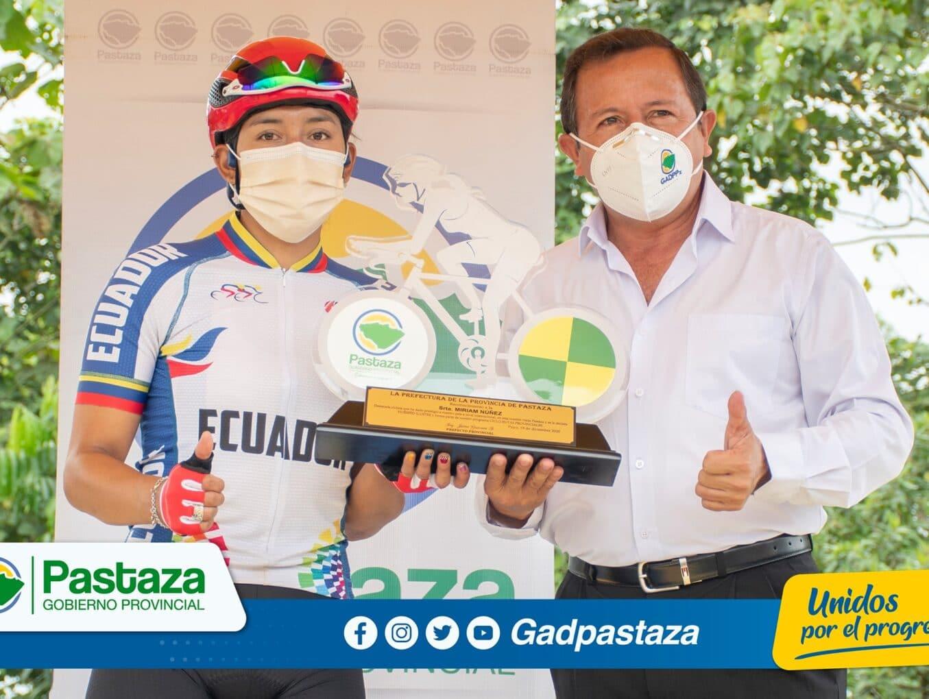 ¡Última ciclo ruta del año, en homenaje a Estuardo Cordova, llegó a Veracruz!