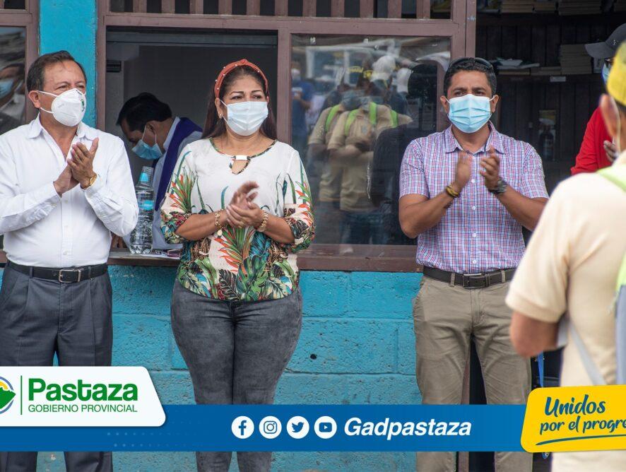 Prefecto brindó mensaje de Navidad a trabajadores y empleados del GADPPz