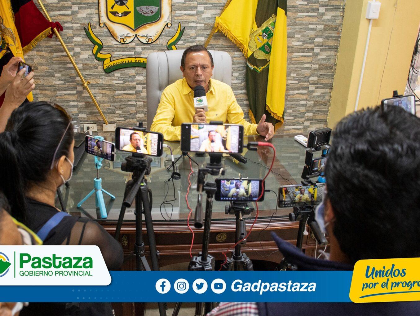¡Prefecto cerró el 2020 cumpliendo agenda de medios y Rueda de Prensa!